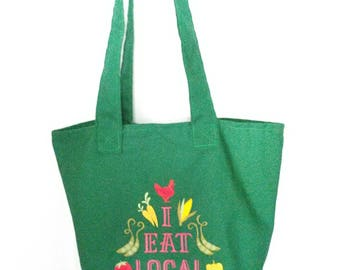 Local Market Tote Bag