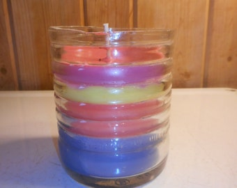 Graf's Soda Candle--Up-Cycled Re-Purposed Vintage Soda Pop Glass Bottle Container Candle
