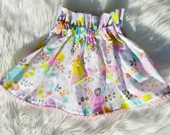 Spring Flower Skirt