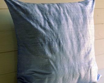 decorative pillow, throw pillow, pillow blue sky, pure, pure Silk shantung silk,