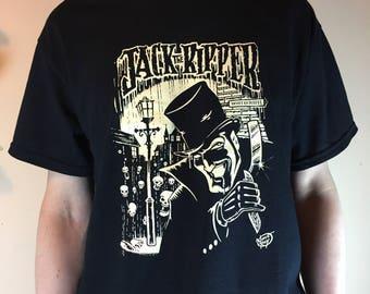 Jack The Ripper - Original Scream-Printed T-Shirt.