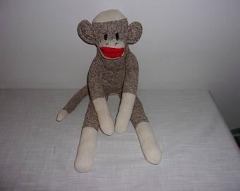 Red Heel Sock Monkey