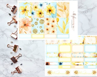 Spring Has Sprung: Weekly Planner Stickers