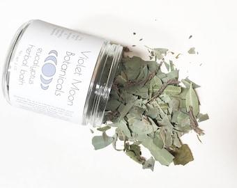 Eucalyptus Herbal Bath // bath soak // bath tea // vegan bath products // natural beauty // vegan skincare // relaxing bath // wild harvest