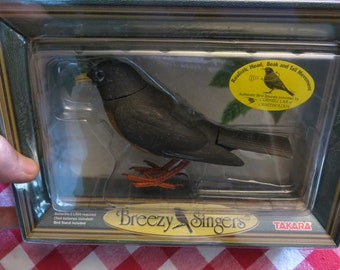 Takara Animated American Robin with Authentic Songs w/ free ship