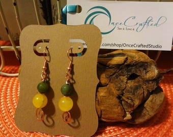 Lemon Drop Earrings