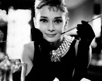 Audrey Hepburn Breakfast At Tiffany's photo Print