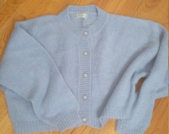 Benetton Vintage Cropped Sweater