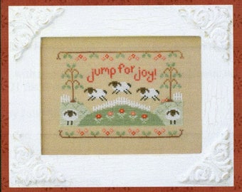 Jump for Joy by Country Cottage Counted Cross Stitch Pattern/Chart