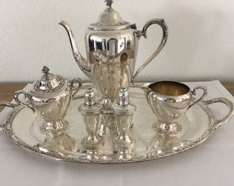 1950's Silver Plated Coffee Set