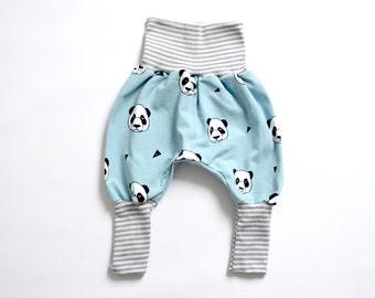 Handmade Baby Pants ,Harem Baby Pants Toddler Newborn