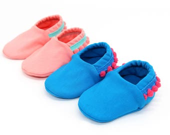 "babies & toddlers ""Ibiza"" - cute baby shoes made of cotton Jersey"