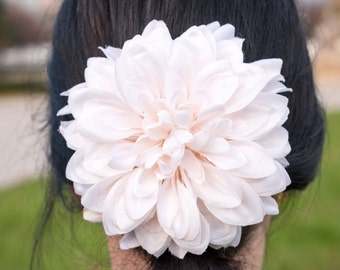 Flower headpiece, hair accessories, flower hair clip