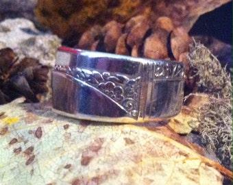 Spoon Ring - Caprice 1937 - silverware ring - spoon jewelry boho ring