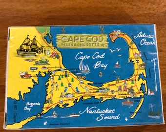 Cape Cod Massachusetts playing cards Southeape District Mashpee, MA