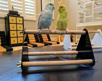 Minimalist Table Stand for Small to Medium Sized Birds