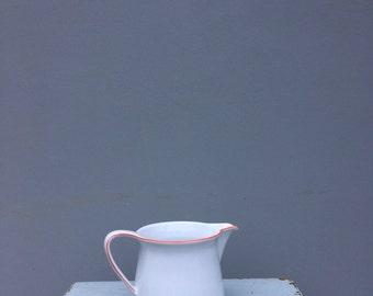 Vintage White Mitterteich Bavarian jug