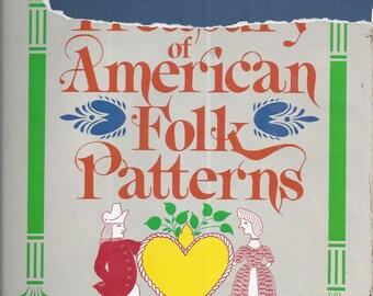 Treasury of American Folk Patterns (Hardcover) 1982