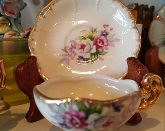 Miniature Tea Cup and Saucer made in Japan