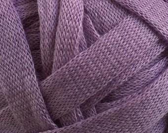 Yarn Destash - 3 Skeins, One Price - Patons Cargo Wool Free Chunky Yarn - Purple