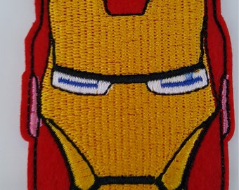 Iron Man Avenger Iron On Sew on Patch