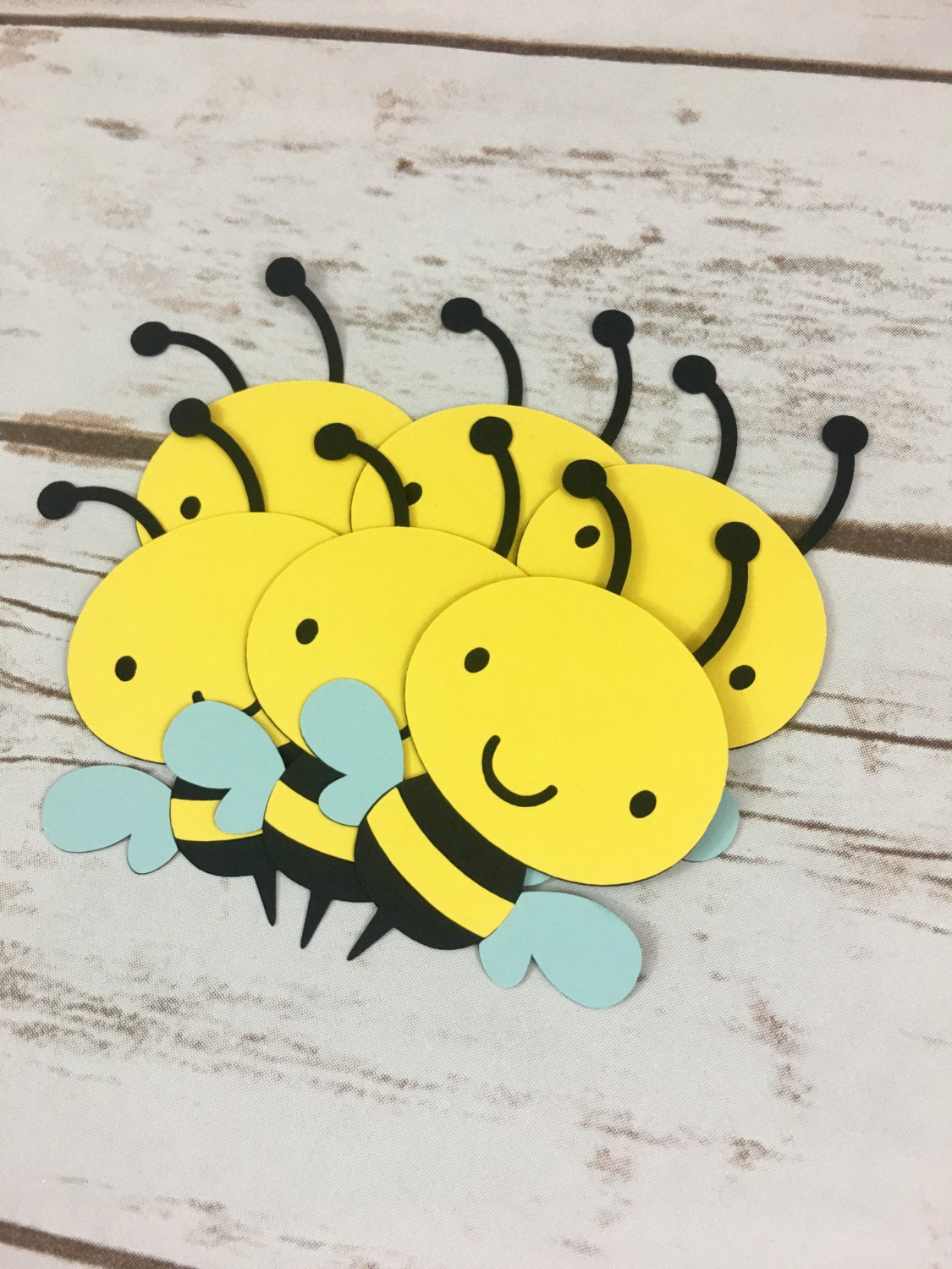 12 bumble bee die cuts diy bumble bee gift tags toppers
