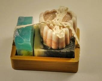 Natural soap gift set