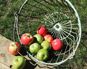 Vintage Farm Basket