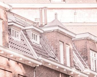 City Lofts - urban photography, Netherlands photo print, Holland photography, Dutch decor, Dutch roofs, canvas wall art, fine art, Nijmegen