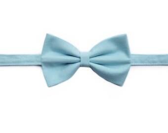 Easter Powder Blue Bow Tie | Newborn / Baby / Toddler / Child / Boy / Dog