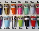 30 Oz Colorful YETI Rambler/ Plain Yeti/ Blank yeti/ 30oz Powder Coated Yeti/ Color Yeti