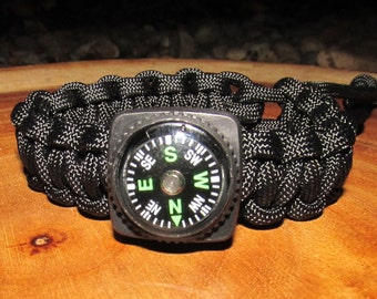 Survival // Paracord // Compass // Bracelet // Adjustable