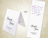 Thank You Card Printable ...