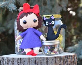 Kiki, Kiki's Delivery Service, Studio Ghibli Plush