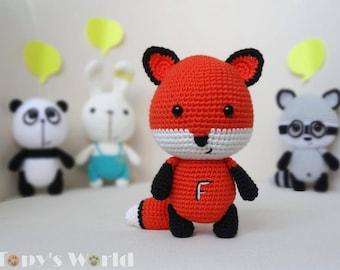 Felix, the Fox - crochet pattern