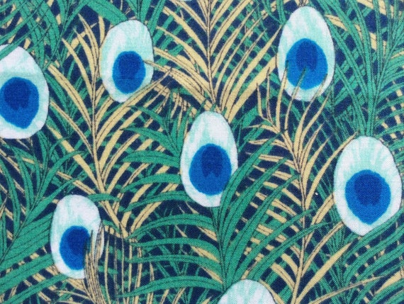 English Pima Lawn Cotton Fabric Priced Per 25cm Feathers