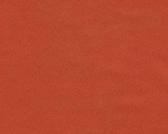 Paprika Orange Fabric - Moda Sunset Cotton - Dark Orange Solid Fabric