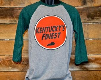 Kentucky Bulls Eye Baseball Tee