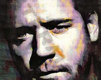 Russell Crowe Art Print - Oil Painting Poster  LFF0168
