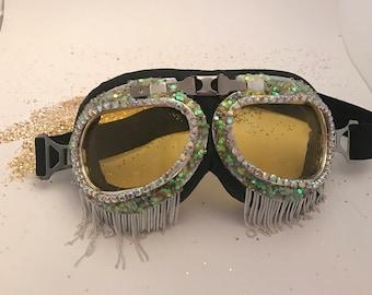 Burning man goggles, festival goggles, festival fashion