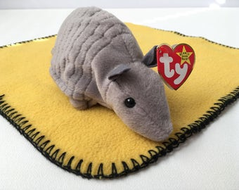 Tank the Armadillo  Ty Beanie Baby Collection