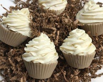 Almond Soap Cupcake