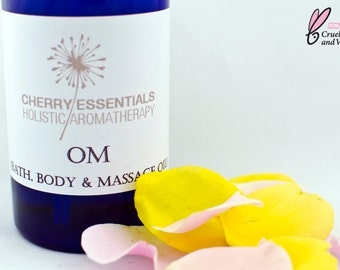 Om (Rose, Chamomile & Frankincense Body Oil)