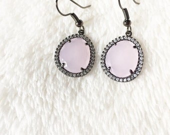 Light pink dangle