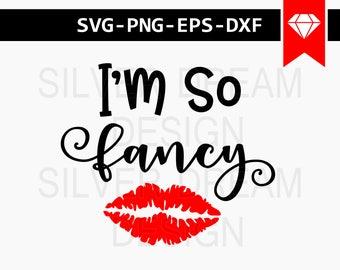 i'm so fancy svg, baby girl svg, newborn svg, fancy girl svg, baby onesie svg, svg files for silhouette, cricut designs, onesie svg