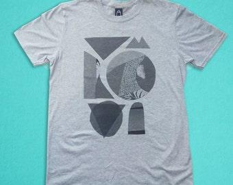 Sports Grey t-shirt - Monochrome lollypop