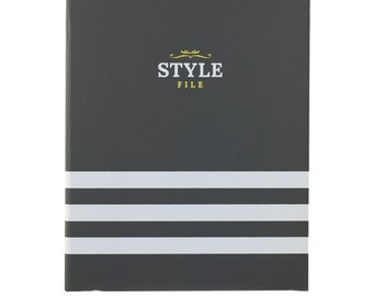 Style File Client Book w/ 100 Client Profile Cards