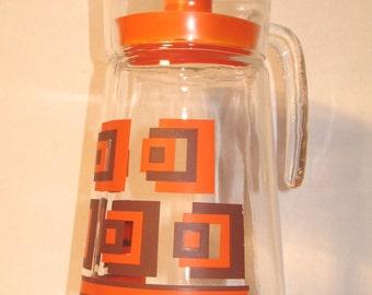 Vintage 70s juice jug