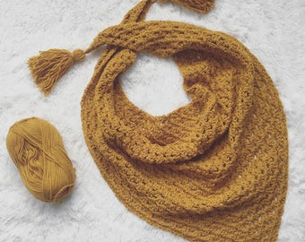 The CASSIE bandana scarf