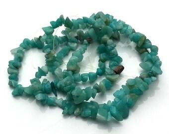 Amazonite chips - gemstone chips - amazonite gemstone - amazonite beads - beading supplies